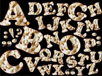 FONTS - Popcorn font -  Commercial & Personal use