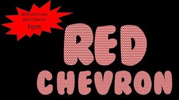 FONTS - Red Chevron Font