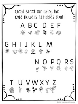 FONTS, Scribble Fonts by KABB 4 styles included!