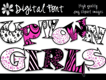 FONTS - Uptown Girls - Commercial & Personal use