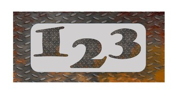 FONTS - Urban Metal Lettering - Personal and Commercial Use