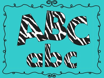 FONTS - Zebra Stripe - Black and White - Personal and Commercial Use