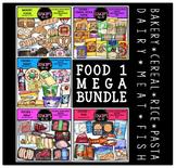 FOOD 1 Clip Art Mega Bundle