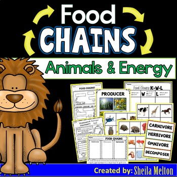 Food Chains BUNDLE!