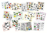 NEW LOW PRICE! FOOD Clip Art Mini BUNDLE -  sets 1 & 2 - includes 290 images!