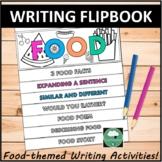 FOOD FLIPBOOK Writing Activities Flipbook Food