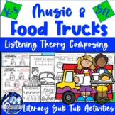 FOOD TRUCK FRIENDS Music Activities Theory Color Listening