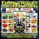 Foods and Nutrition: FOOD GROUPS POSTER PACK (Set of 6)
