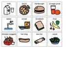 FOOD ITEMS PECS PRINTOUT