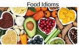 FOOD Idioms / Expressions