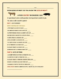 FOOD KNOWLEDGE ACTIVITY: CUTS OF MEAT QUIZ