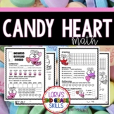 FOOD MATH - Candy Conversation Heart Math