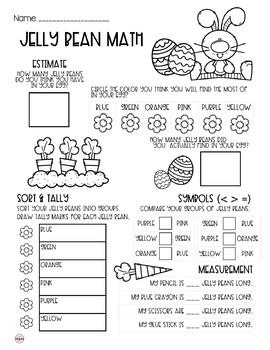 Jelly Bean Math - Food Math
