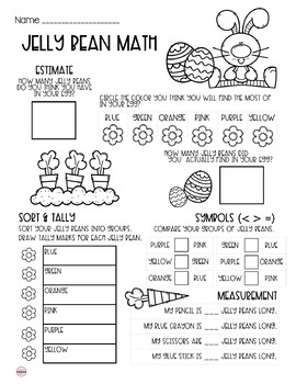 Jelly Bean Math - Food Math