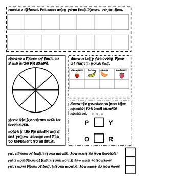 FOOD MATH - 'Lil Fruit Stand