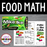 FOOD MATH - Mike and Ike Math