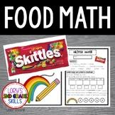 FOOD MATH - Skittle Math Fun