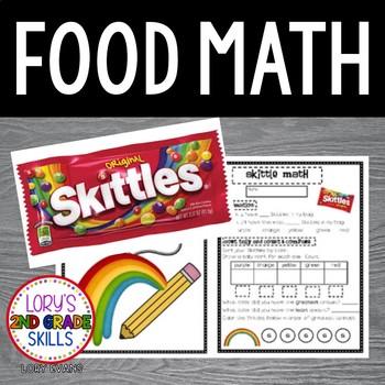food math skittle math fun by lory evans teachers pay teachers. Black Bedroom Furniture Sets. Home Design Ideas