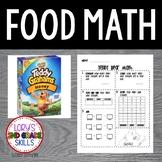 FOOD MATH - Teddy Bear Math