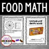 FOOD MATH - Tootsie Pop Drops Math