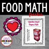 FOOD MATH - Valentine's Day Fruit Snack Fun