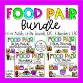 FOOD PAIR Centers Bundle