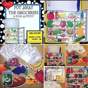 FOOD POSTER & LANGUAGE PACKET