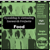 Speaking & Listening Research Projects: FOOD BASED VCAL RESOURCES