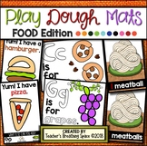 FOOD Play Dough Mats --- 19 Picture Mats and 10 Counting Mats 1-10