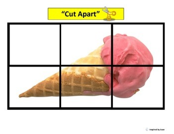 """""""FOOD"""" Simple Puzzles for Autism"""