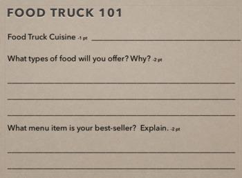 FOOD TRUCK SOCIAL MEDIA CAMPAIGN