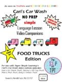 FOOD TRUCKS Edition: Car Wash Language Lesson Video Companions
