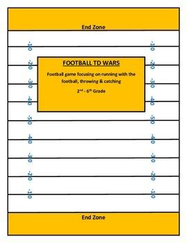 P.E. FOOTBALL TD WARS