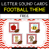 FREE Letter Sound Posters - Football Theme