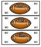 Classroom Money Rewards and Behavior Football Theme