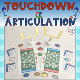 FOOTBALL TOUCHDOWN ARTICULATION (SPEECH & LANGUAGE THERAPY)
