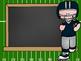 FOOTBALL theme - PowerPoint, Open House, Curriculum Night, Meet the Teacher