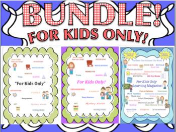 BUNDLE! Math Literacy Centers! Sight Words! Grade 1 - 2