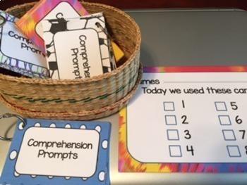 Comprehension Prompts: Building Good Reading Habits