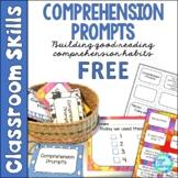 Comprehension Prompts Building Good Reading Habits