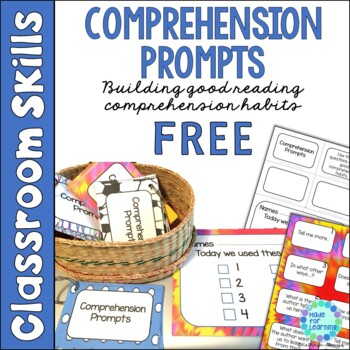 Comprehension Prompts: Building Good Reading Habits