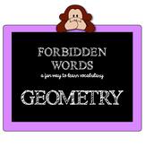GEOMETRY GAME - FORBIDDEN words