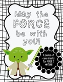 FORCE & MOTION EXPERIMENTS - Star Wars Theme
