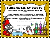 FORCE and ENERGY: Odds Out!