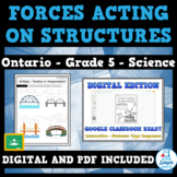 FORCES ACTING ON STRUCTURES AND MECHANISMS - Ontario Science Grade 5 Unit