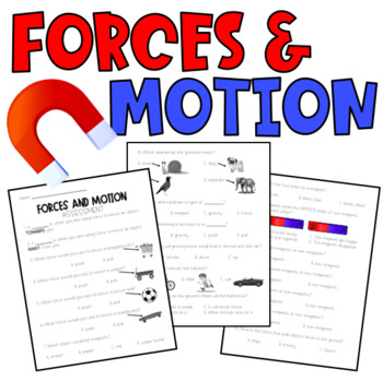 FORCES & MOTION ASSESSMENT