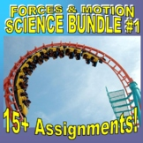FORCES & MOTION Bundle #1 (10+ Assignments / 40+ Pages)