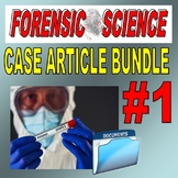 FORENSIC CASE ARTICLES BUNDLE #1 (14 Articles / Question Packets)