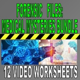 FORENSIC FILES MEDICAL MYSTERIES BUNDLE SET (12 Video Sheet / Distance Learning)