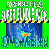 FORENSIC FILES : SUPER BUNDLE PACKAGE (120+ WORKSHEETS & MORE) / FREE UPDATES